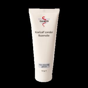 Koelzalf zonder rozenolie is geschikt voor de gevoelige, droge en geprikkelde huid. Zonder rozenolie om overgevoeligheidsreacties te voorkomen. De verdamping van water in deze koelzalf heeft een licht verkoelend effect op de huid. Glycerine zorgt voor een goede smeerbaarheid en gaat uitdroging van de huid tegen. Let op! Bevat Arachideolie