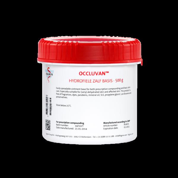 Occluvan™ is een zalf voor de geprikkelde, zeer aangedane droge huid. Zonder conserveermiddelen, propyleenglycol, wolvet lanoline en wolvetalcohol.