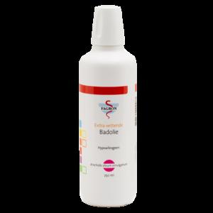 extra vettende badolie (Arachidis oleum emulgatum)geschikt voor de zeer droge huid. Bevat geen parabenen.