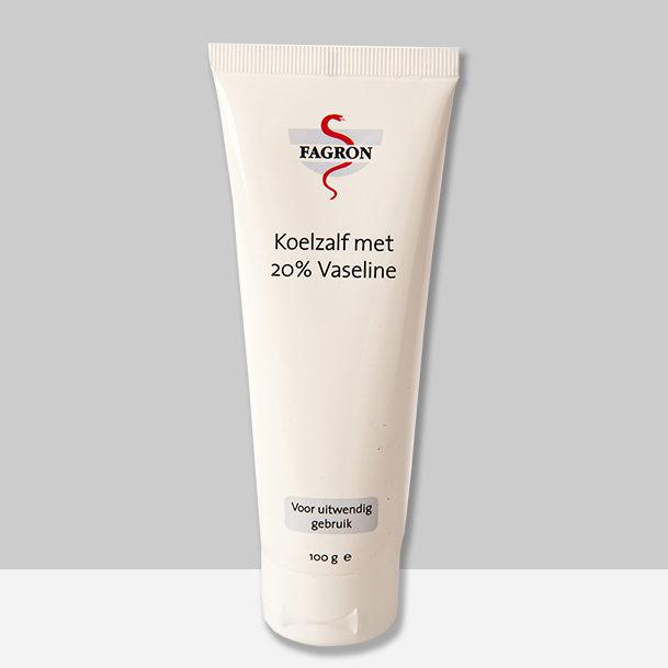 Koelzalf met 20% vaseline - crème voor zeer droge huid